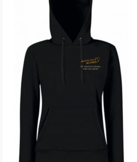 Audacious Women Black Hoody